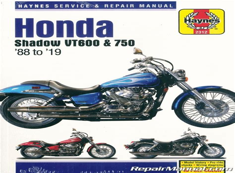 Honda Shadow Motorcycle Manual