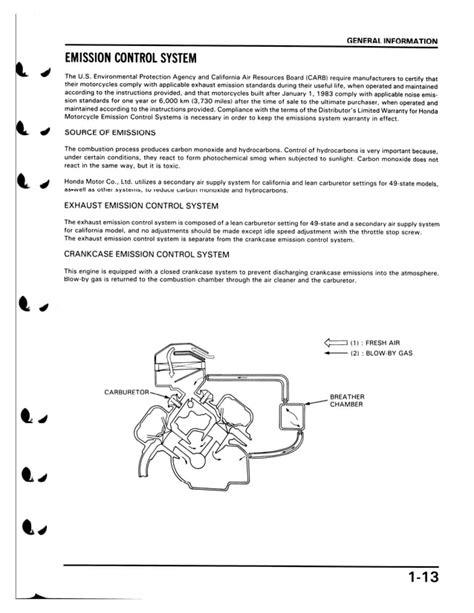 Honda Vf700c 1987 Magna Factory Service Manual U61mn000