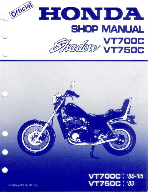 Honda Vt700c Service Manual