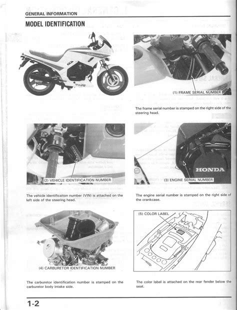 Honda Vtr250 Manual