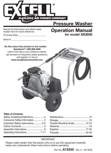 Honda Xr2600 Repair Manual