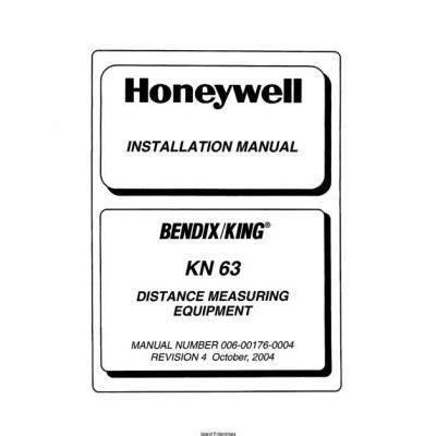 Honeywell Kt76a Installation Manual