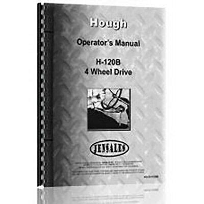 Hough H 100a Industrial Construction Manual