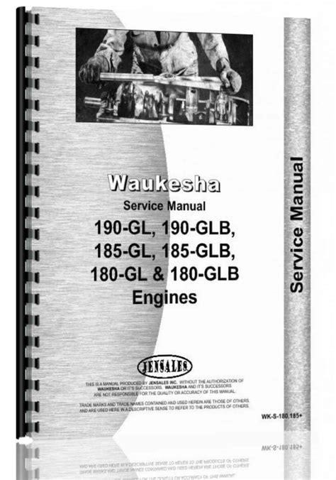 Hough H 25 Pay Loader Waukesha Engine Parts Manual