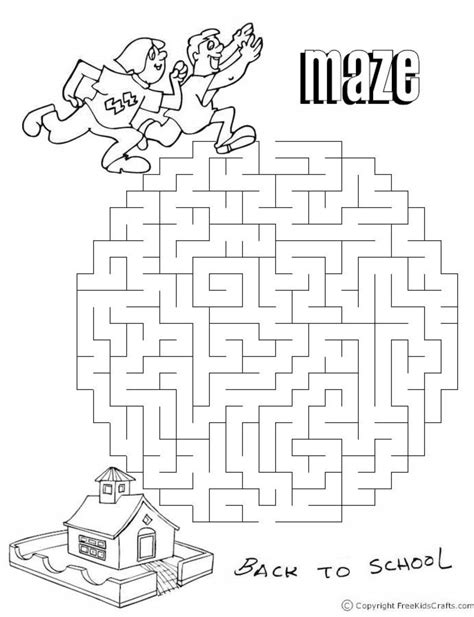 Hours Of Fun Mazes And Word Search For Kids