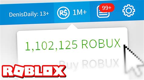 The Future Of How To Get 1 Million Robux In Roblox