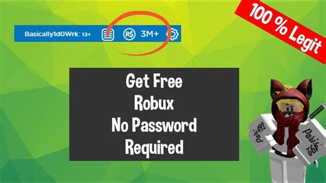 2 Myth About How To Get Free Robux No Email Or Password