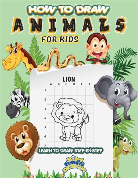 How To Draw Animals Learn To Draw For Kids Step By Step Drawing How To Draw Books For Kids English Edition