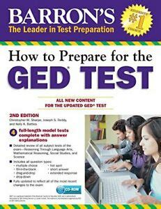 How To Prepare For The Ged Test With Cd Rom 2nd Edition Barron S Ged Book Only