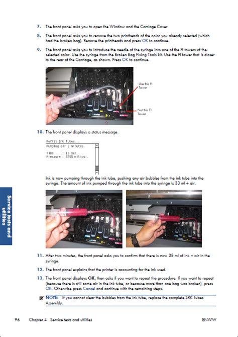 Hp Designjet Z6200 Photo Printer Series Service Repair Manual