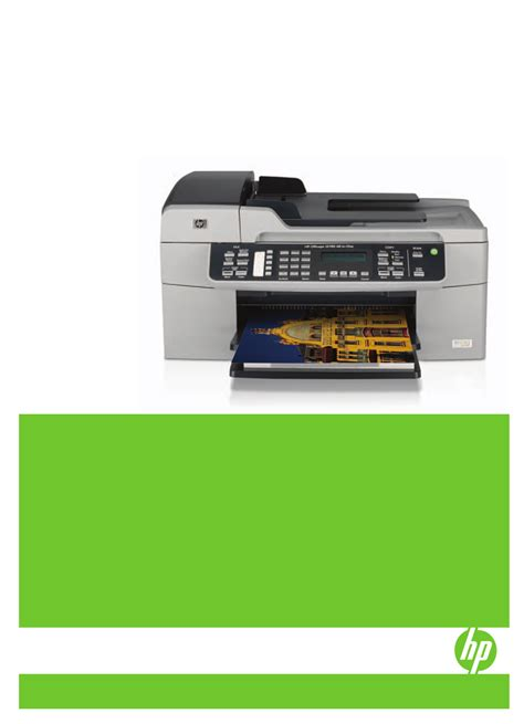 Hp Officejet 6210 Instruction Manual