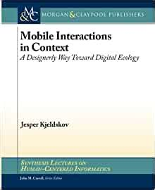 Human Computer Interactions In Museums Synthesis Lectures On Human Centered Informatics