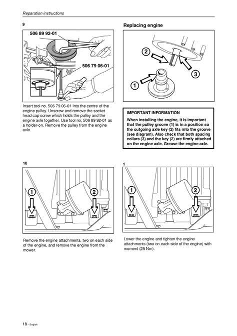 Husqvarna Rider 11 Rider 16h Workshop Manual