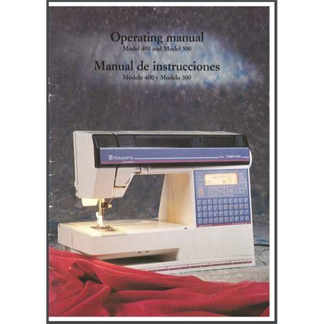 Husqvarna Viking 500 Manual