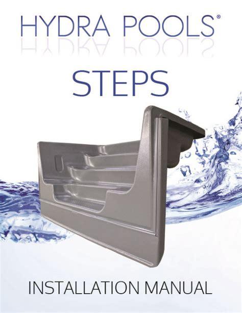 Hydra Pools Jet Installation Manual