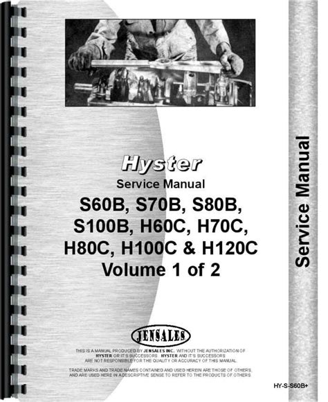 Hyster Forklifts Manuals