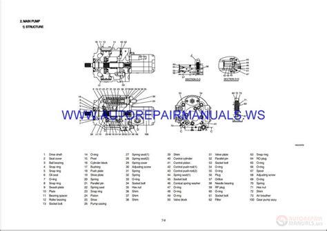 Hyundai Crawler Mini Excavator Robex R55 9 Service Manual