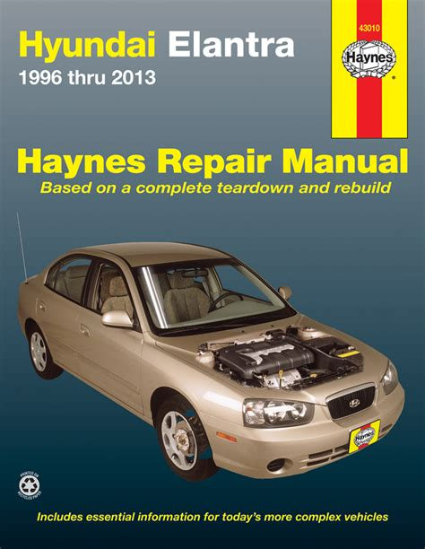 Hyundai Elantra Service Manual 1996
