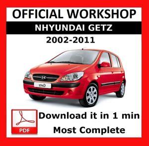 Hyundai Getz 2002 2011 Service Repair Workshop Manual