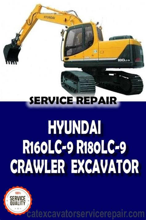 Hyundai R380lc 9 Crawler Excavator Service Manual Operating Manual Collection Of 2 Files
