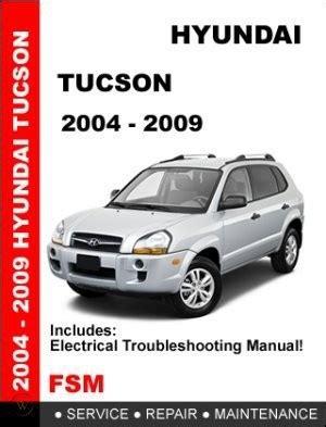 Hyundai Tuscon Service Manual