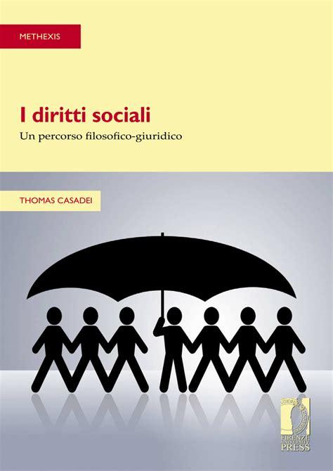 I Diritti Sociali Un Percorso Filosofico Giuridico