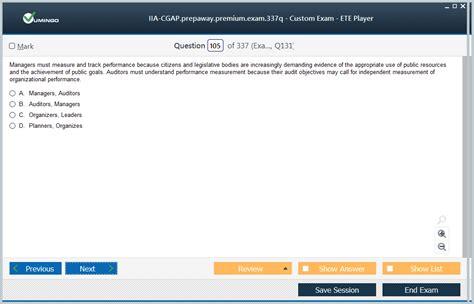 IIA-CGAP-INTL Exam Fragen