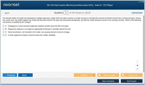 IIA-CIA-Part2 Practice Test Fee