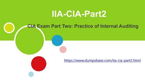 IIA-CIA-Part2-KR Real Dumps