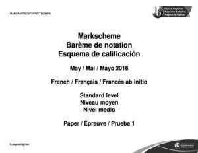 Ib Ab Initio Paper 1 2012 Markscheme