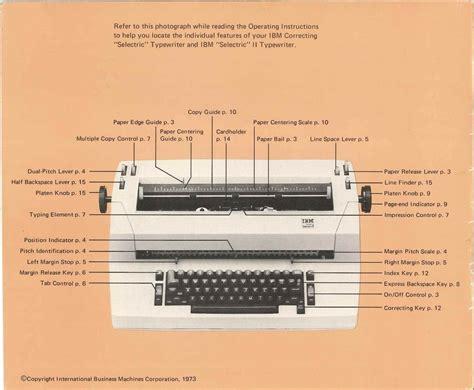 Ibm Selectric Ii Manual