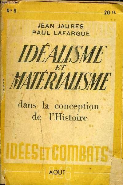 Idealisme et Materialisme