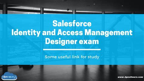 Identity-and-Access-Management-Designer Certificate Exam