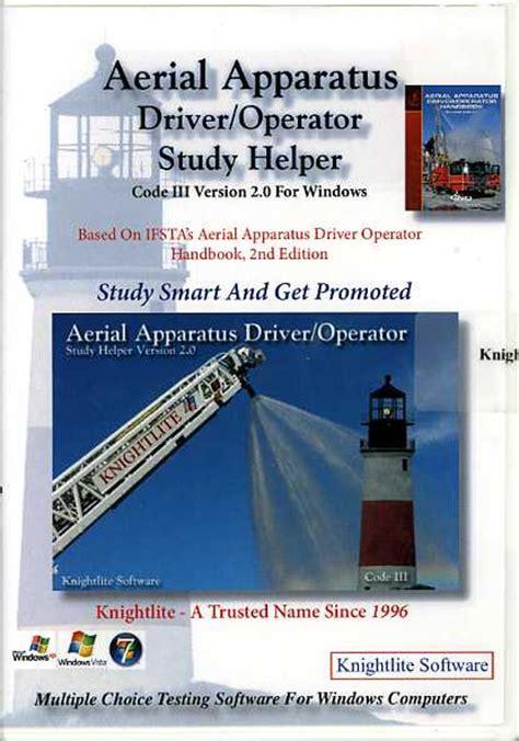 Ifsta Aerial Apparatus Driver Operator Study Guide