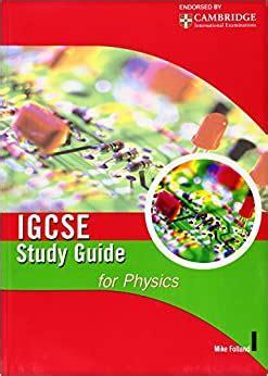 Igcse Study Guide For Physics