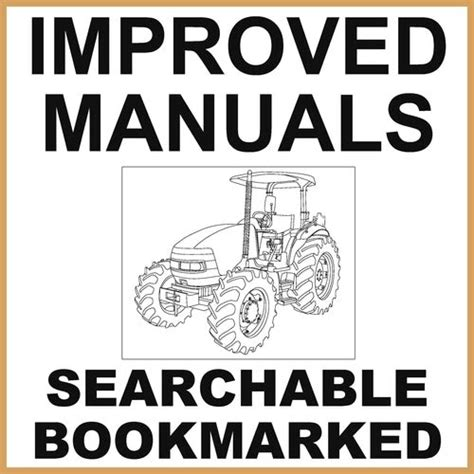 Ih International Case 684 Tractor Factory Service Repair Workshop Manual Improved