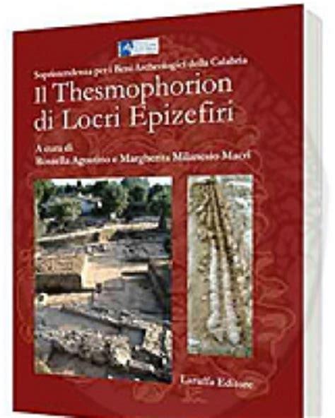 Il Thesmophorion Di Locri Epizefiri