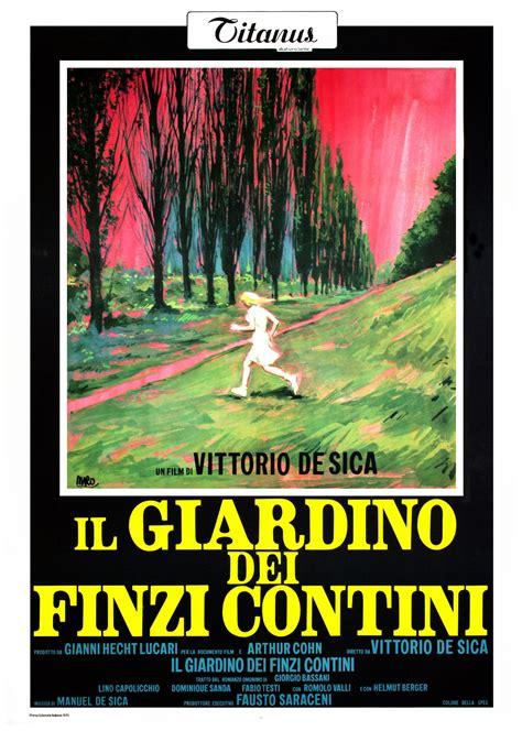 Il giardino dei finzi contini (1971) online