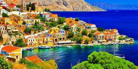 Iles Grecques Et Athenes