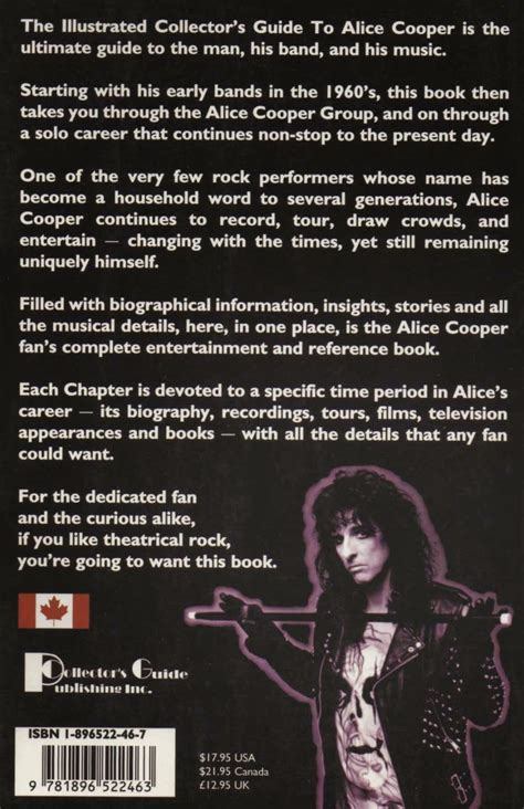 Illustrated Collector S Guide To Alice Cooper