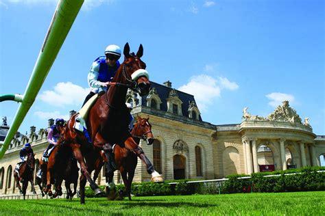Impression 1847 De Sport D Hippodrome De Course De Chevaux De Chantilly