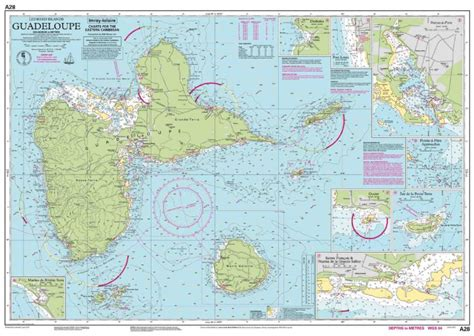 Imray Chart A28 Guadeloupe Iolaire