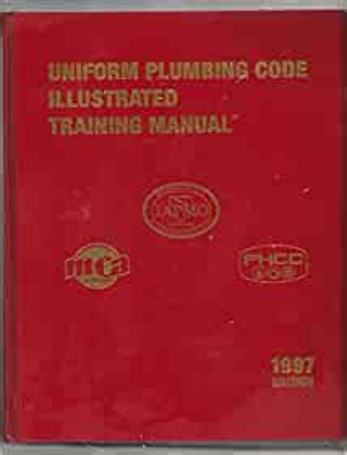 Imternational Plumbing Code Illustrated Training Manual