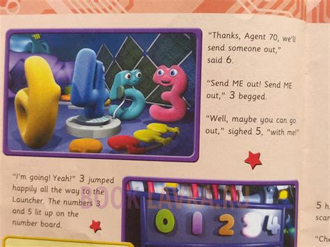 In Out Shake It All About Numberjacks