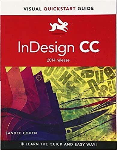 Indesign Cc Visual Quickstart Guide Visual Quickstart Guides