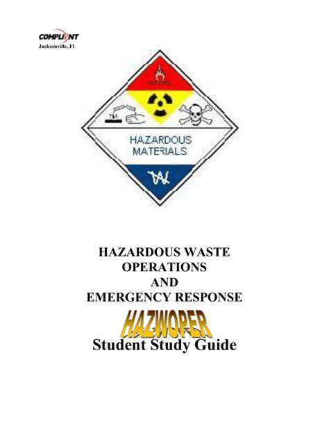 Indiana Hazmat Awareness Study Guide