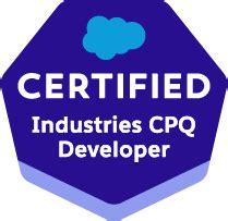 Industries-CPQ-Developer Testking