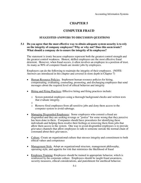 Information Systems Accounting Romney 12 Solution Manual