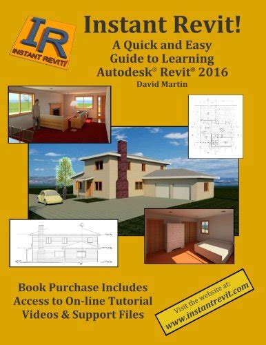 Instant Revit A Quick And Easy Guide To Learning Autodesk Revit 2018