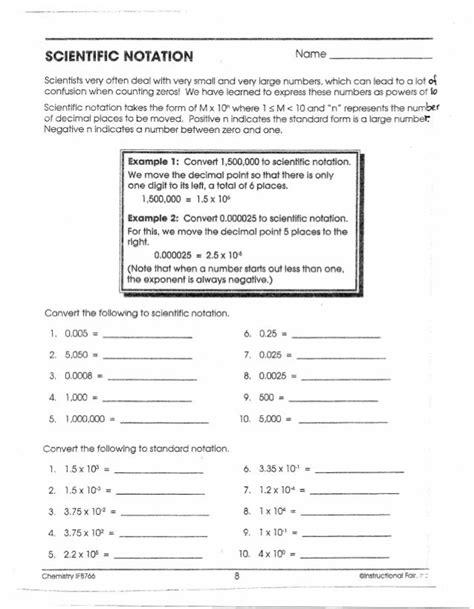Instructional Fair Inc Chemistry If8766 Answer Key